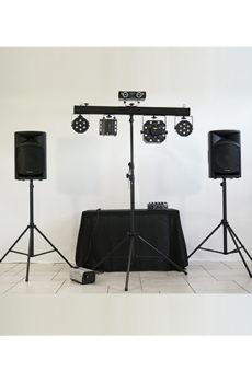 Sonorisation et jeux de lumière